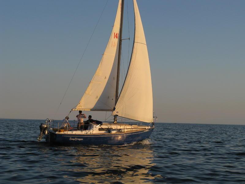 1970 Morgan 28 centerboard sailboat for sale in Wisconsin