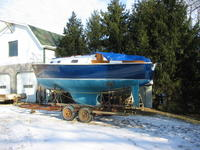 1970 Wapakoneta Ohio 22 Bristol 22' Sailboat