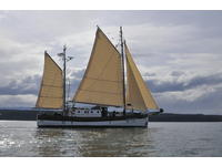 1944 Seattle Washington 75 British Admiralty Motorsailer